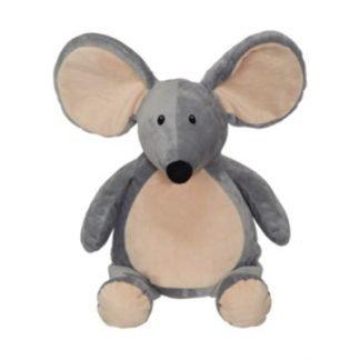 Bamse mus grå kan broderes