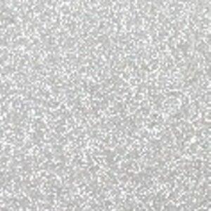 Applikation Glitter sølv